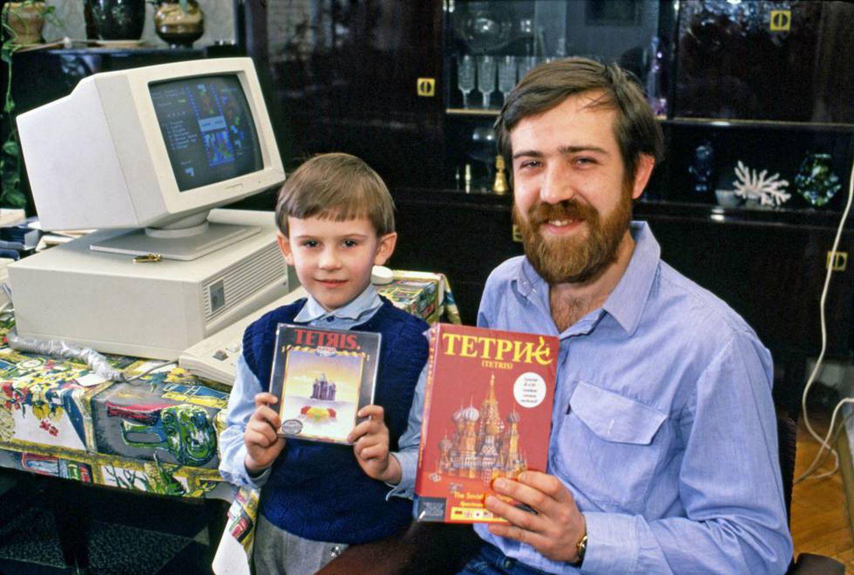 Alexey Pajitnov, créateur de Tetris, en 1989
